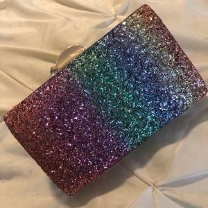 Woman's Sparkling Evening Clutch